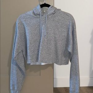 urban outfitters - cropped hoodie
